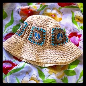 Route 66 Crocheted Hat